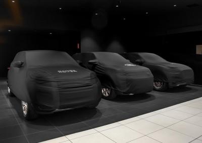 © Miguel Rosán. Red nacional de concesionarios Jaguar Land Rov