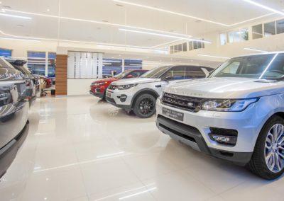 © Miguel Rosán. Red de concesionarios Jaguar Land Rover