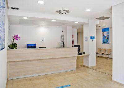 Fotografia profesional de interiorismo, clinicas y centros de sa