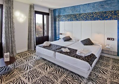 Fotografia profesional de interiorismo, hotel Petit Palace Alfon