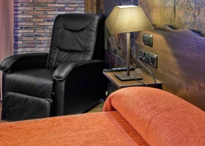 Fotografia profesional de interiorismo, hotel Doña Blanca, Alba